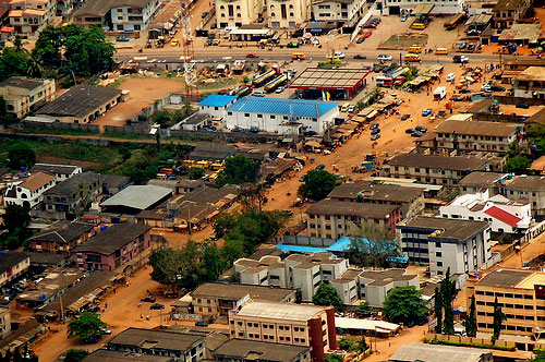 Lagos, Nigeria: Eyebird view