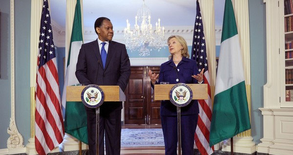 Henry Odein Ajumogobia and Hillary Clinton