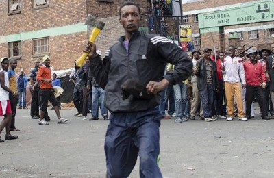 xenophobia attack in south africa - AP