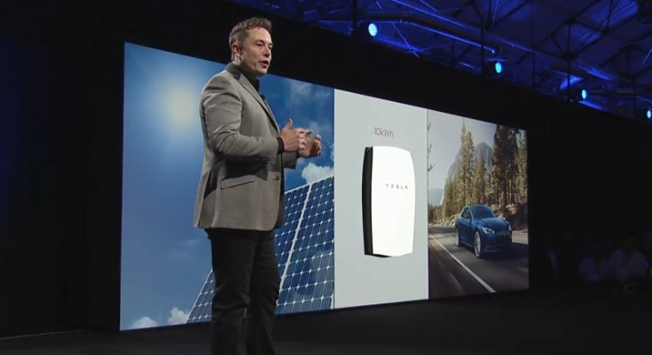 Elon Musk Unveils New Stationary Energy Storage Device.