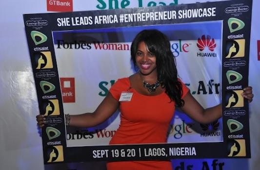 She Leads Africa 2014 winner