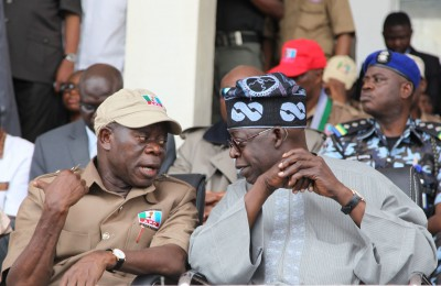 Adams Oshiomhole and Bola Tinubu