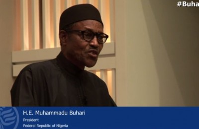 Muhammadu Buhari at the U.S. Institute of Peace
