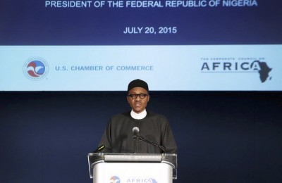 Muhammadu Buhari at the U.S. Chamber of Commerce Dinner