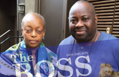 Alison Madueke and Dele Momodu
