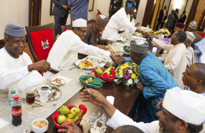 Aso Rock Villa - State dinner