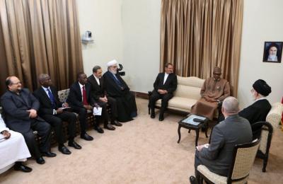 Buhari meets Ayatollah