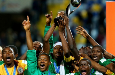 Golden Eaglets Win