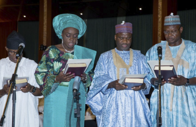 Kemi Adeosun and her co-ministers